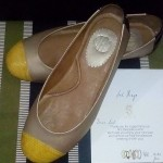 My first DIY shoes from SAPATO Bespoke Event
